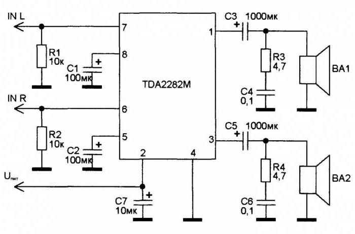 Микросхемы усилитель звука для пк 5 вт своими руками 23