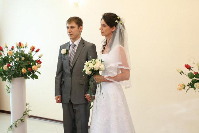 Свидетельство о браке (образец)