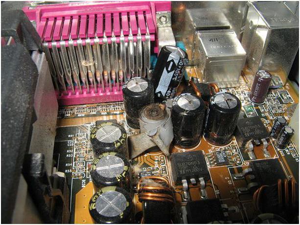 bad capacitors
