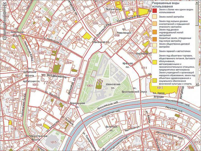 determine the cadastral number of the land plot