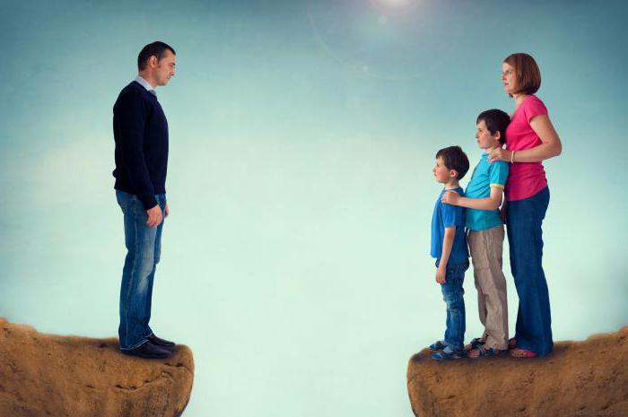 новый после развода ребенок по закону остается тихо