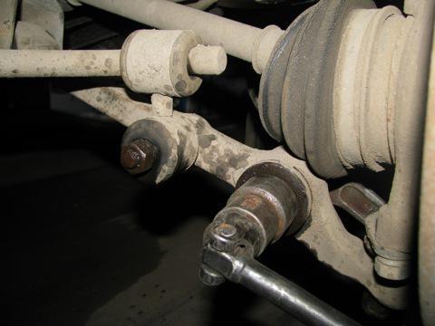 arm front suspension VAZ 2109