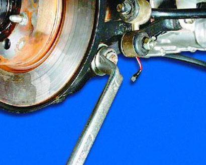 front suspension VAZ 2109