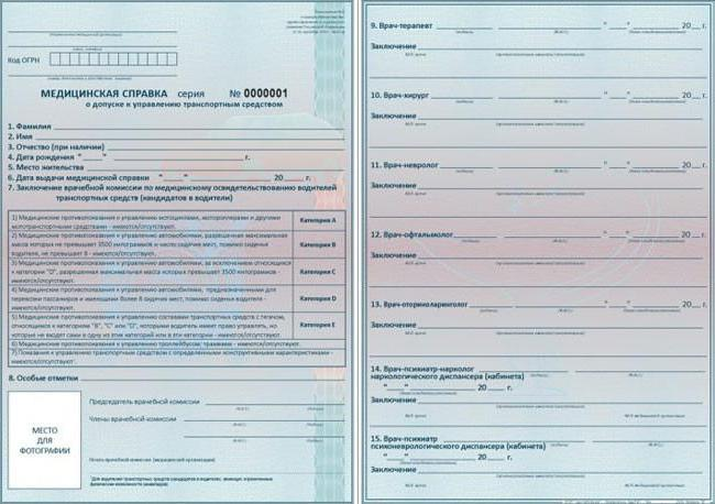 medical certificate for traffic police sample