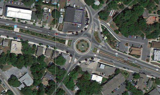 Rules of access for roundabouts