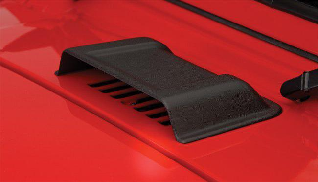 Air intake on the hood of the VAZ