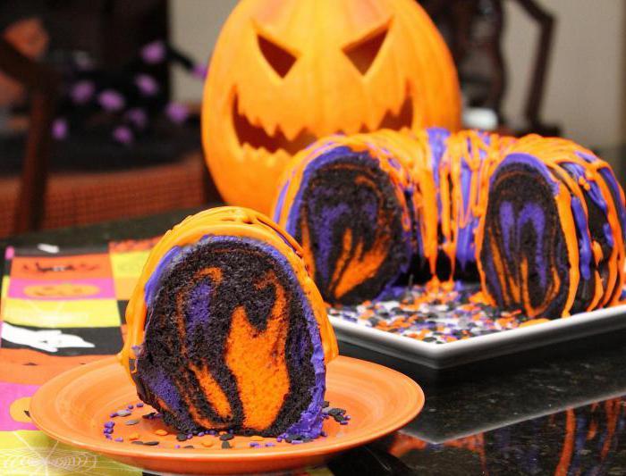 торт на хэллоуин рецепт с фото