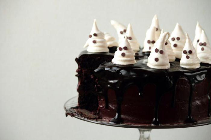 торты на хэллоуин рецепты с фото простые
