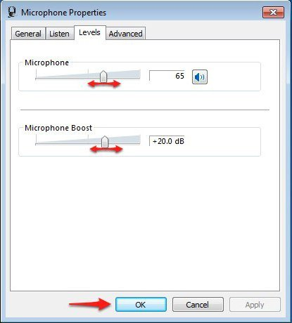 Как сделать микрофон громче на windows 10