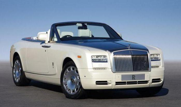 Rolls Royce Phantom характеристики