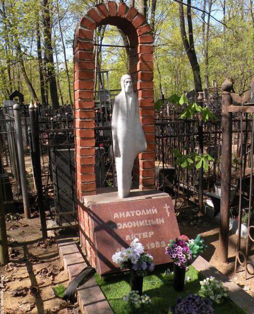 Захоронения на ваганьковском кладбище