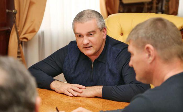 Аксенов Сергей Валерьевич: биография и фото главы Крыма