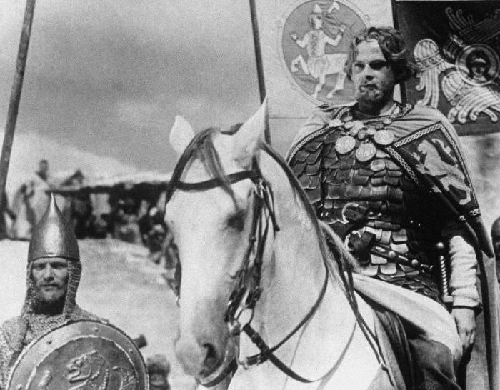the film of Sergei Eisenstein Alexander Nevsky