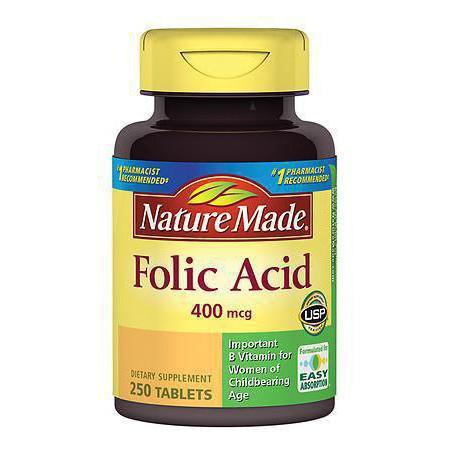 Фолиевая кислота (витамин В9 фолацин)