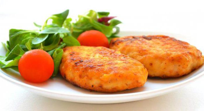 delicious minced fish cutlets