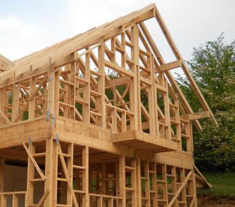 foundation for a frame house