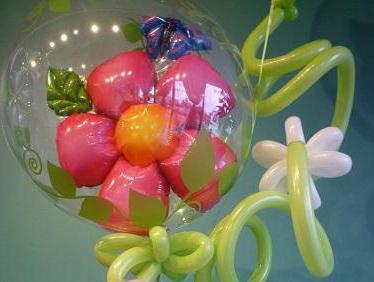 букеты из шаров на день