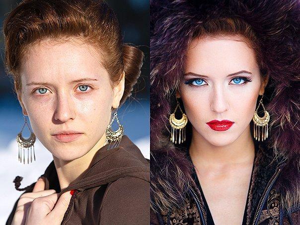 Как изменить макияж до неузнаваемости thumbnail