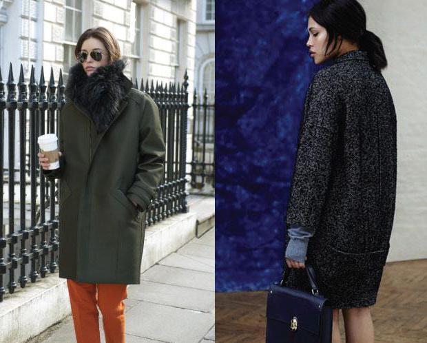 Пальто-кокон с чем носить? Возможные варианты, фото