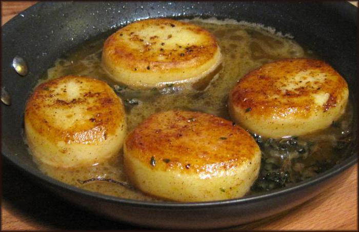 potato dough for patties