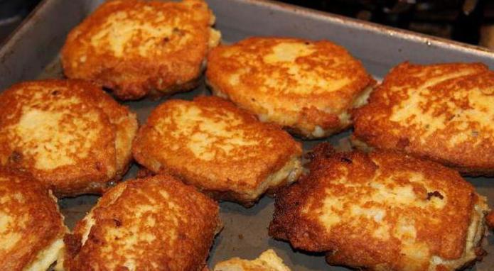 potato patties in the oven