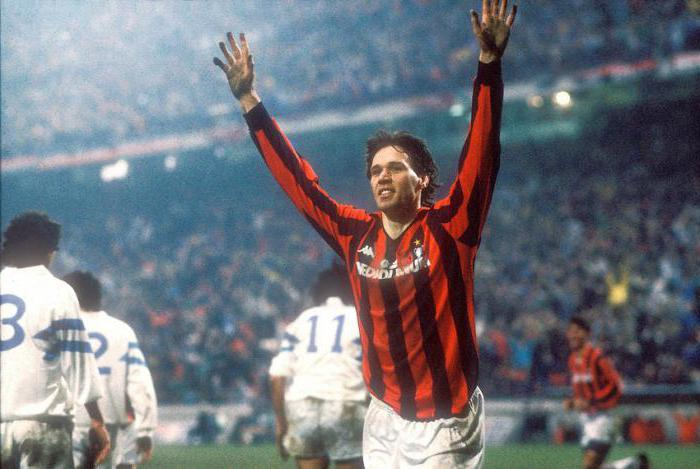 football player marco van basten photo