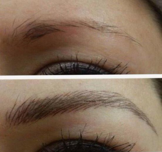 eyebrow care after microblading