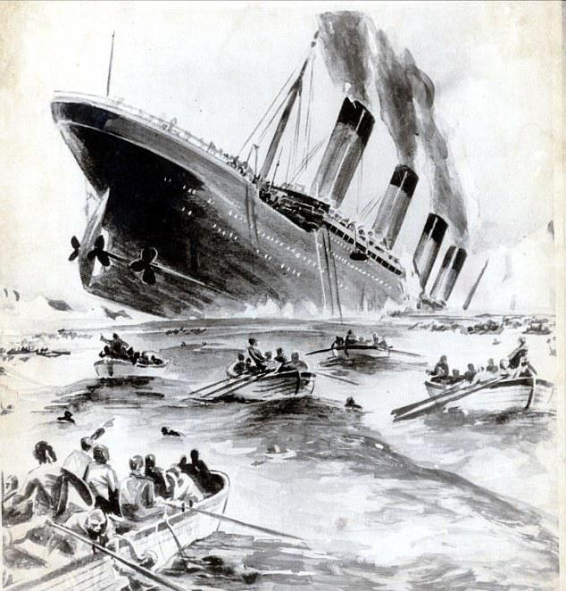 how many people died on Titanic in 1912