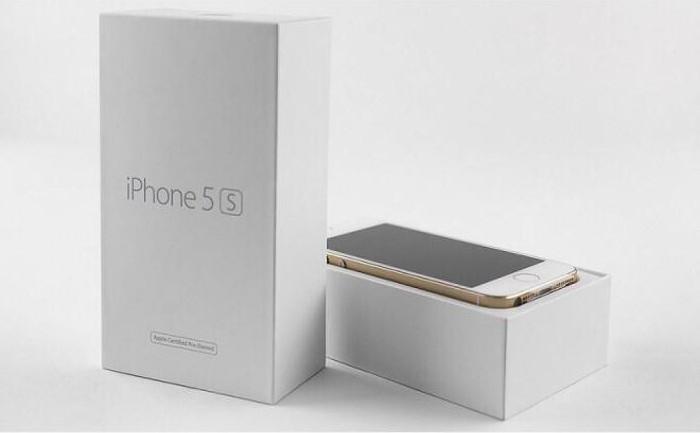 официально восстановленный iphone 5s