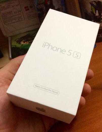 iphone 5s восстановленный как новый