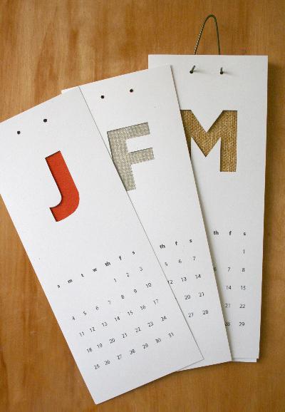 как сделать из бумаги календарь