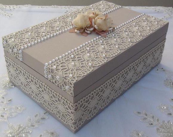 Как обклеить коробку с подарком 86
