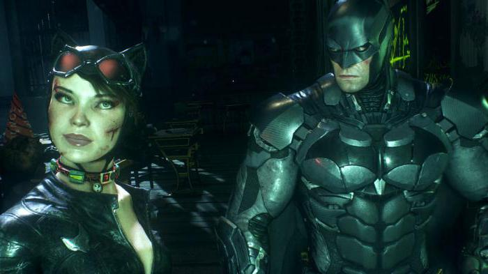 batman arkham knight версии