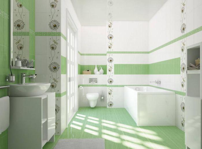 плитка для ванной cersanit фото