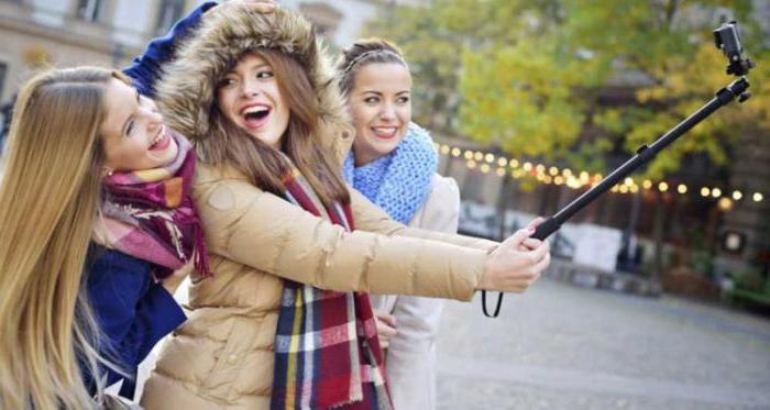what is the name of the selfie stick