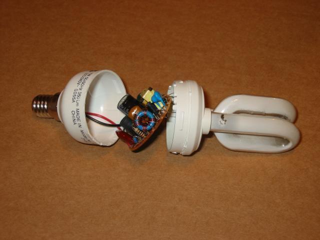 Как сделать эконом лампочку