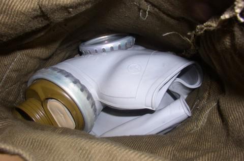устройство противогаза гп 5
