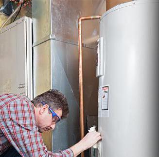 gas boiler connection