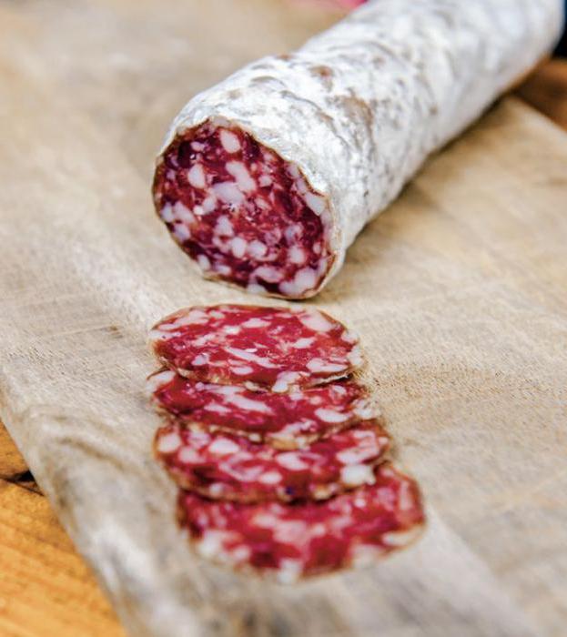 Луканка свиная - домашняя сухая колбаса - приготовление сухой 61