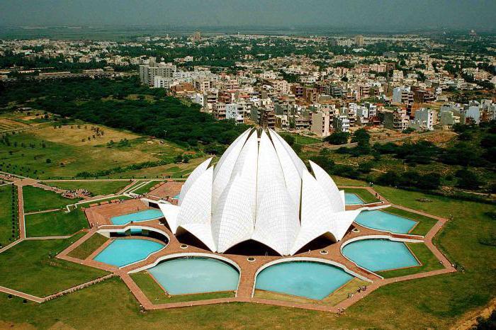 new delhi lotus temple