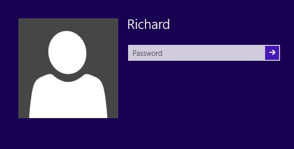 how to delete an account on windows 8