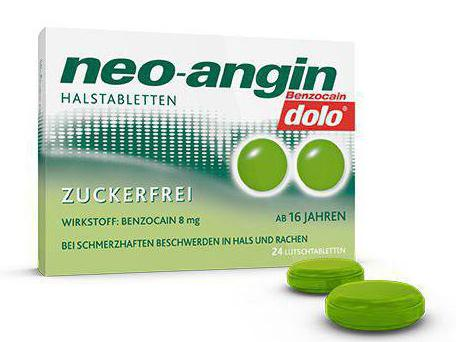 tablets neo angina