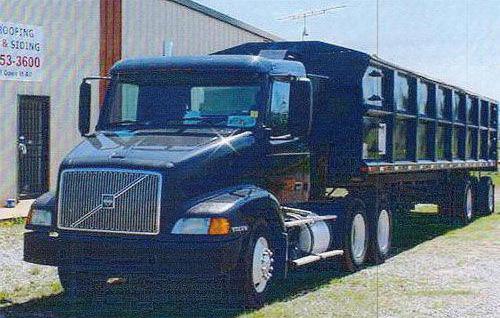 вольво грузовой тягач
