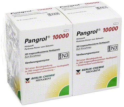 пангрол 10000 инструкция