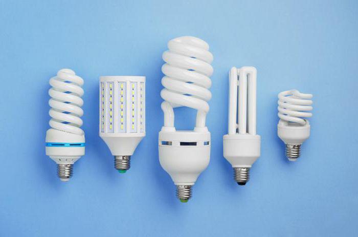 виды лампочек для дома энергосберегающие