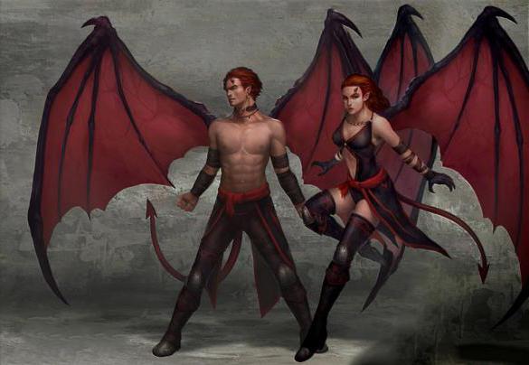 демон суккуб