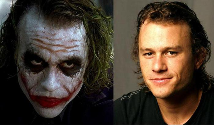 the actor who played the joker in the dark knight