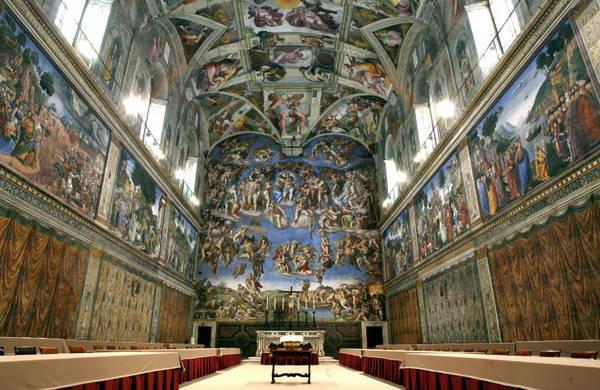 Michelangelo the Last Judgment description