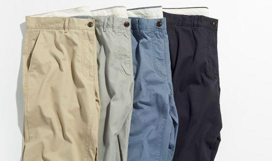 Как определить размер мужских джинсов таблица