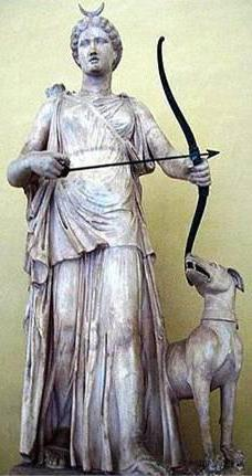 Diana, the goddess of hunting
